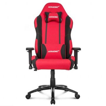 AKRacing Core Series EX Gaming Chair, Red & Black